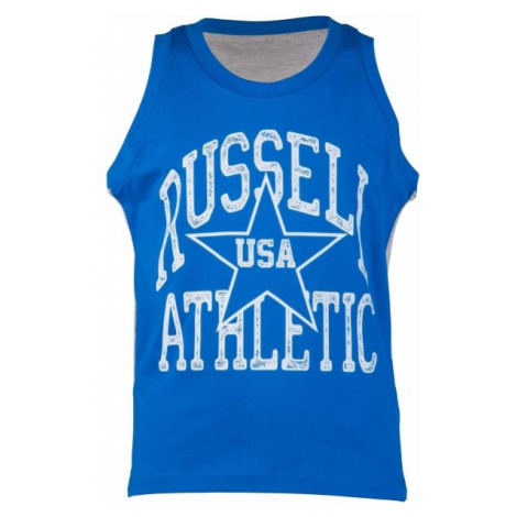 Russell Athletic BASKETBALL BOY'S TANK TOP blue - Boys' tank top