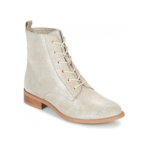 Mellow Yellow CHALOU women's Mid Boots in Gold