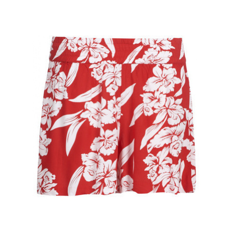 Volcom ALOHA HA SHORT women's Shorts in Red