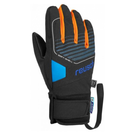 Reusch TORBY R-TEX XT JR black - Junior ski gloves