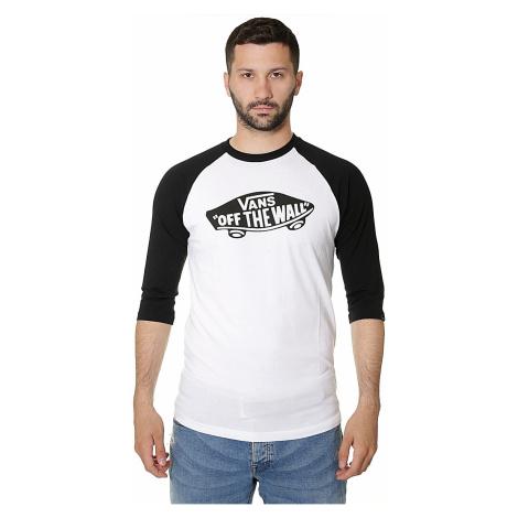 T-shirt Vans OTW Raglan - White/Black