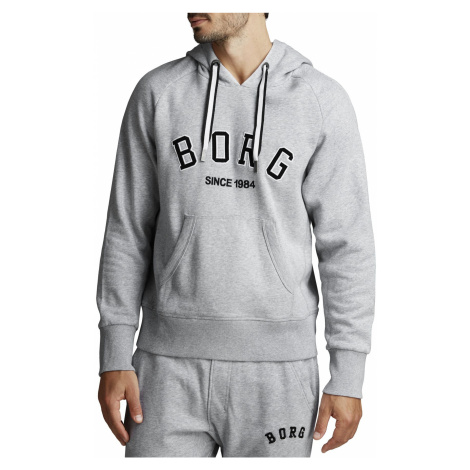 BORG SPORT HOOD H108BY LIGHT GREY MELANGE Bjorn Borg