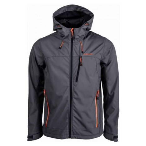 Crossroad OLIN gray - Men's softshell jacket