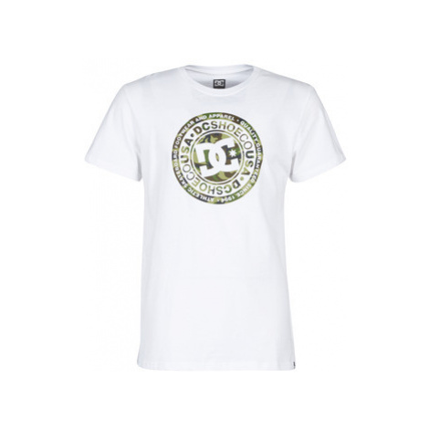 DC Shoes CIRCLE STAR SS 2 men's T shirt in White