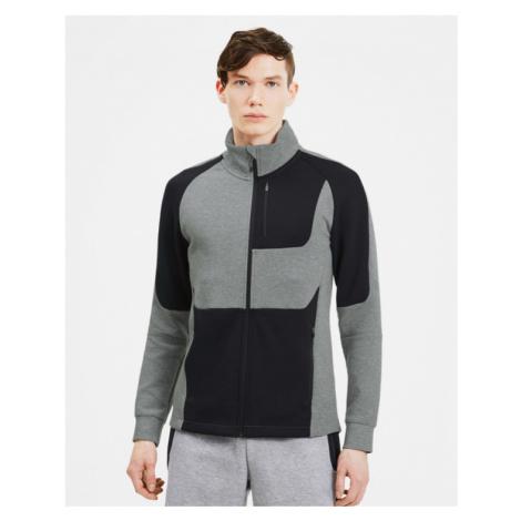 Puma Evostripe Track Sweatshirt Black Grey