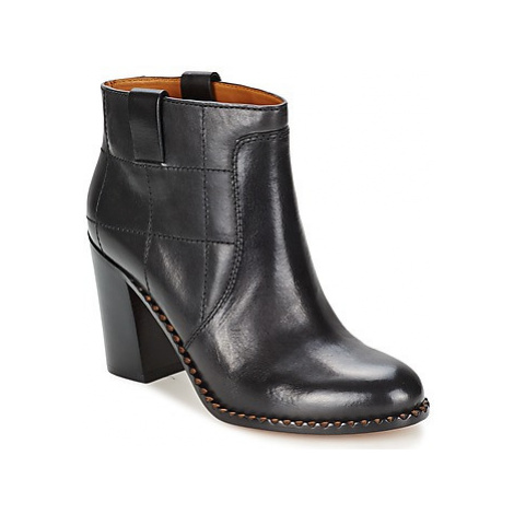 Marc by Marc Jacobs CASUAL 70'S ANKLE BOOT HEEL women's Low Boots in Black