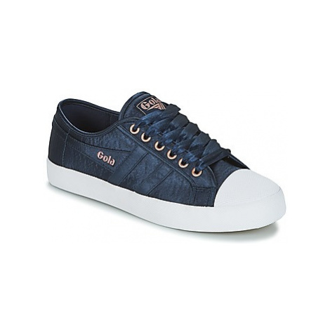 Gola COASTER SATIN women's Shoes (Trainers) in Blue