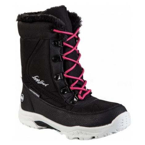 Loap ICE KID pink - Children's winter boots