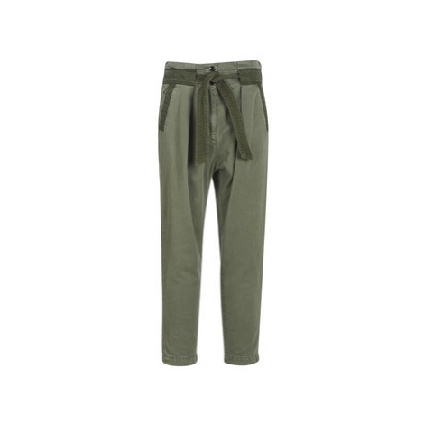 G-Star Raw BRONSON ARMY PAPERBAG women's Trousers in Kaki