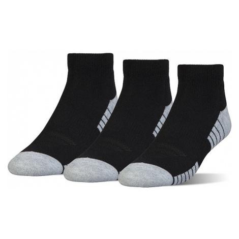 socks Under Armour HeatGear Low Cut 3 Pack - 001/Black - unisex junior