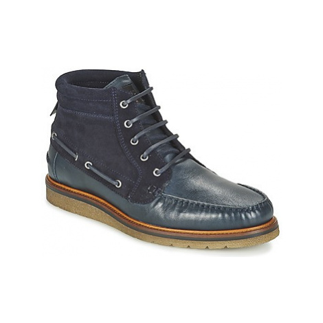 BOSS TUNED HALB men's Mid Boots in Blue Hugo Boss