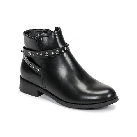 Moony Mood FULNI women's Mid Boots in Black