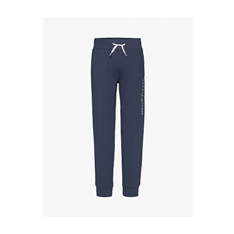 Tommy Hilfiger Boys' Essential Organic Cotton Blend Tapered Joggers, Twilight Navy