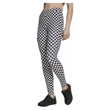 leggings Urban Classics Check Pattern/TB2753 - Chess - women´s