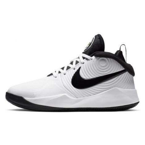 Nike Team Hustle D 9 Older Kids' Basketball Shoe - White