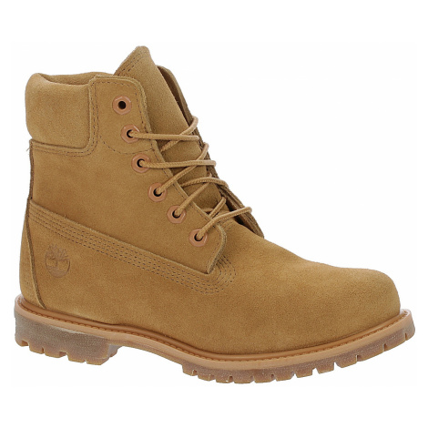 shoes Timberland Icon 6 Premium Waterproof Boot - A1P7G/Medium Beige Suede/Suede Collar
