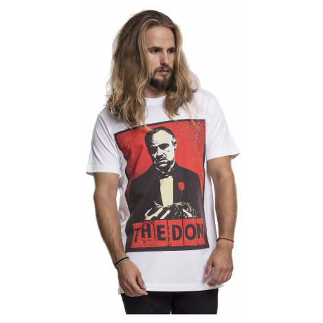 T-Shirt Urban Classics Godfather The Don/MC085 - White - men´s