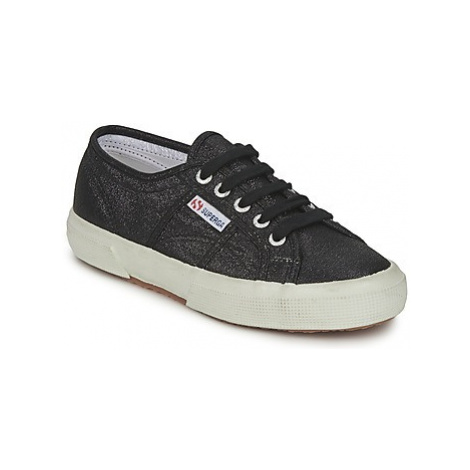 Superga 2750LAMEW women's Shoes (Trainers) in Black