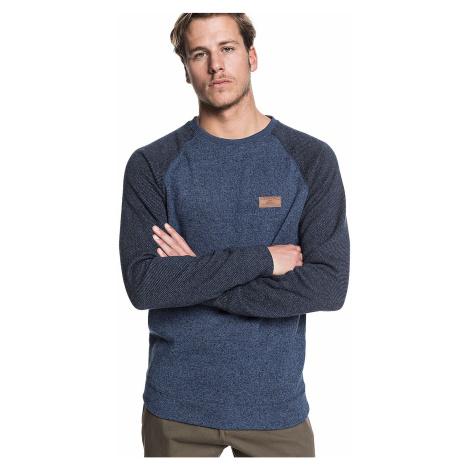 sweatshirt Quiksilver Keller Block Crew - BSTH/Blue Nights Heather - men´s