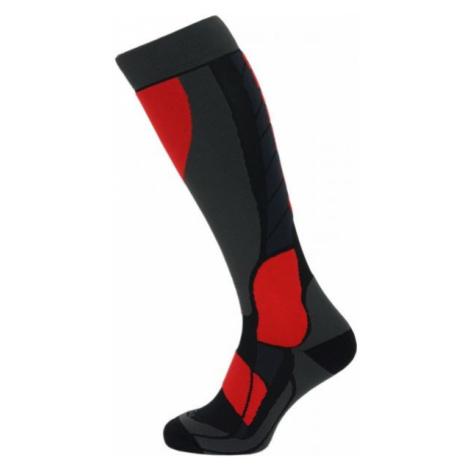 Blizzard COMPRESS 120 SKI SOCK black - Compression ski knee socks