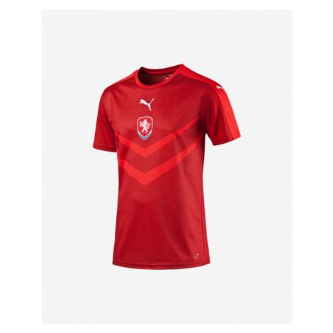 Puma Czech Republic Replica Home Kids T-shirt Red