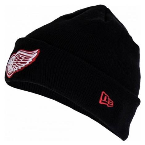 New Era SMU NHL CUFF KNIT DETRED black - Club winter hat