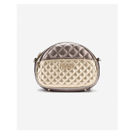 Guess Brielle Mini Cross body bag Gold Silver