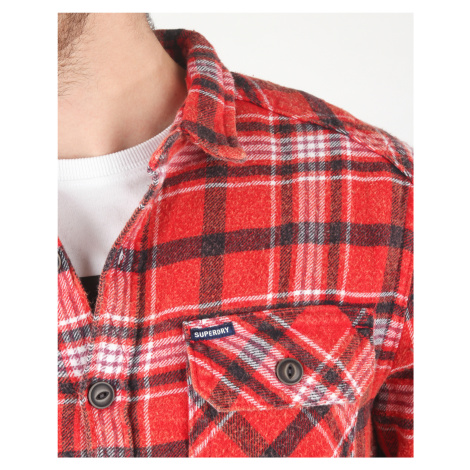 SuperDry Shirt Red