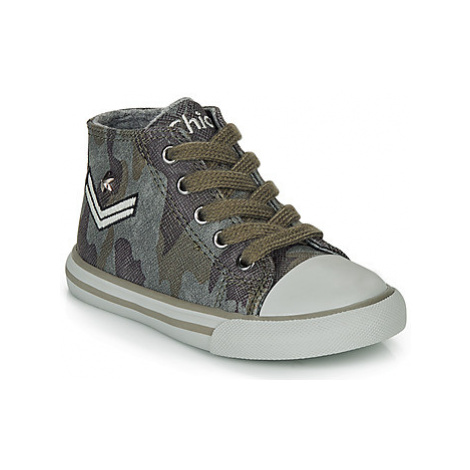 Chicco CARTER boys's Children's Shoes (High-top Trainers) in Grey