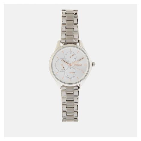 HUGO Women's Fearless Link Watch - Silver Hugo Boss