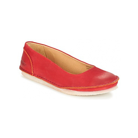 Kickers MYBALERINA women's Shoes (Pumps / Ballerinas) in Red