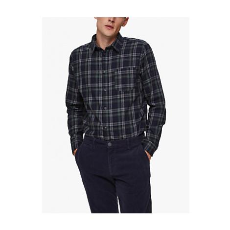 SELECTED HOMME Matthew Regular Fit Check Organic Cotton Shirt