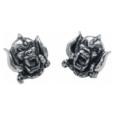 Motörhead Warpig Earring Set silver coloured