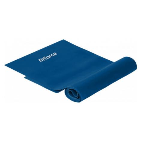 Fitforce EXEBAND EXTRA HARD 120 CM dark blue - Latex exercise band