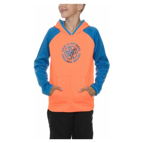 Sam 73 Kids Sweatshirt Blue Orange