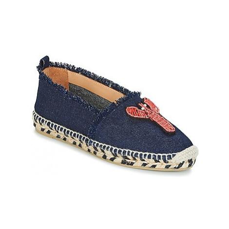 Castaner KENDA women's Espadrilles / Casual Shoes in Blue Castañer