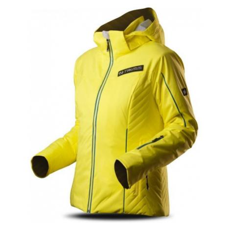 TRIMM SAWA yellow - Women's skiing jacket