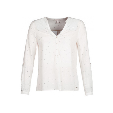 Esprit VARABINOU women's Blouse in White