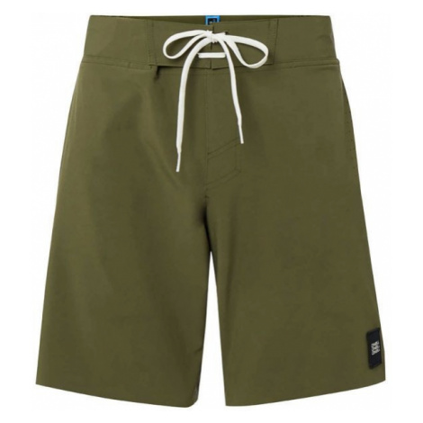 Green men's swimwear