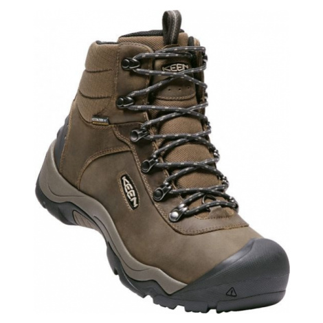 Keen REVEL III M GREA brown - Men's winter shoes