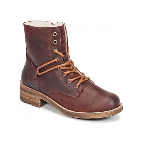 Bullboxer CLARY girls's Children's Mid Boots in Bordeaux