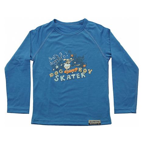 T-Shirt Lasting Skater LS - 5151/Blue - boy´s