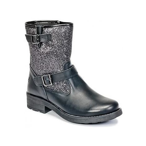 Citrouille et Compagnie HISETTE girls's Children's Mid Boots in Black