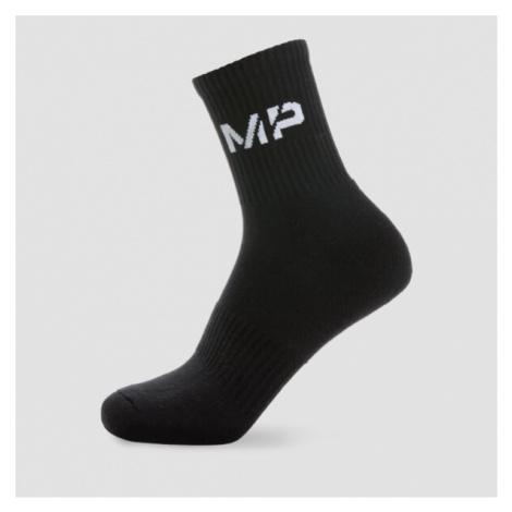 MP Essentials Men's Crew Socks - Black (2 Pack) - UK 9-12