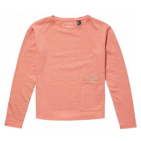 O'Neill LG RISE & SURF L/SLV T-SHIRT orange - Girls' long sleeve T-shirt