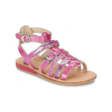 Noel SANTO girls's Children's Sandals in Pink