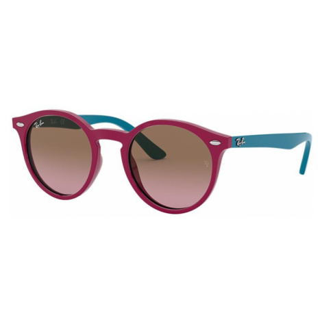 Ray Ban Unisex RJ9064S - Frame color: Purple, Lens color: Brown/Violet Gradient, Size 44-19/130
