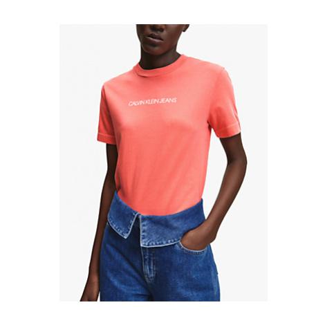Calvin Klein Performance Shrunken Institution T-Shirt, Island Punch