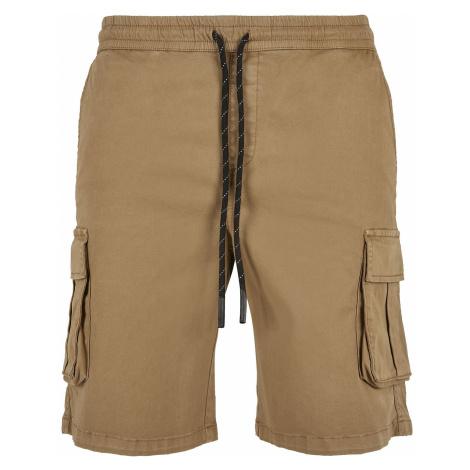 Urban Classics Drawstring Cargo Shorts Shorts brown