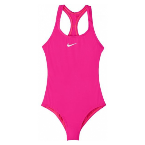 Nike SOLID pink - Girls' one-piece swimsuit